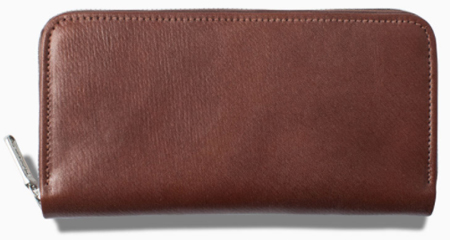 S2622 LONG ZIP WALLET / BAKER'S RUSSIAN CALF