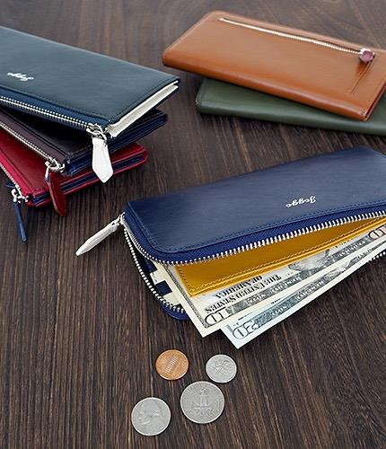 メンズL字ファスナー財布