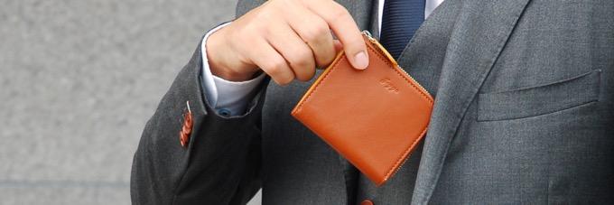 JOGGOは、上質な牛革が使用されている、使い勝手のよい財布