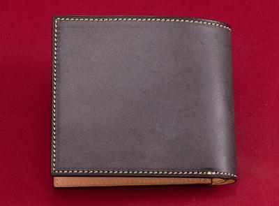 万双(マンソウ)ブライドル 二つ折り財布