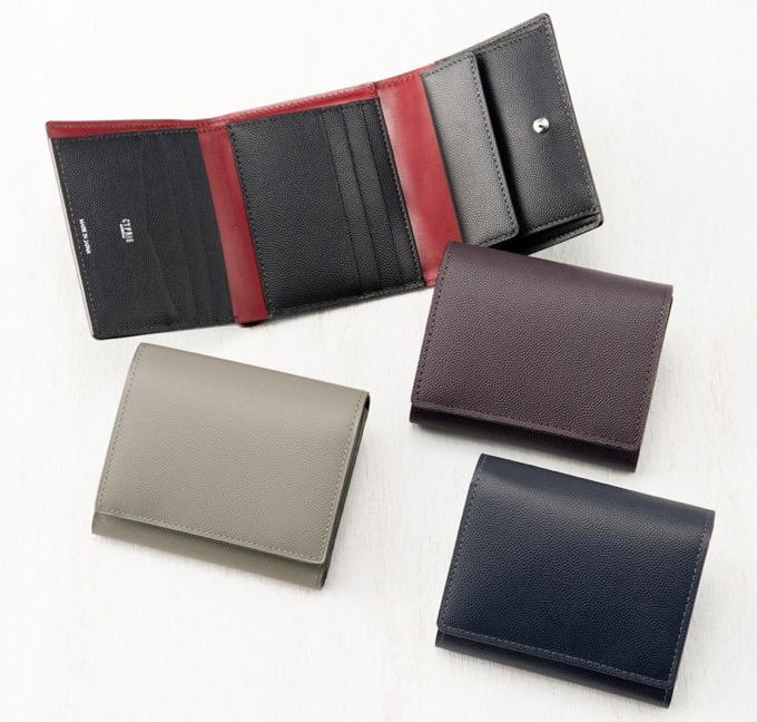 CYPRIS(キプリス)三つ折り財布 ペルラネラ