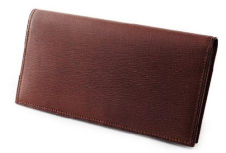 GANZO(ガンゾ)CALF NUME2 (カーフヌメ2)マチ無し長財布