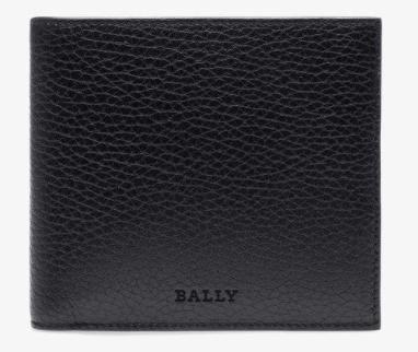 Bally(バリー)SEISEL メンズ ブラック レザー ウォレット