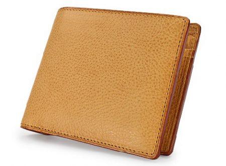 GANZO(ガンゾ)Minerva Natural (ミネルバナチュラル)二つ折り財布