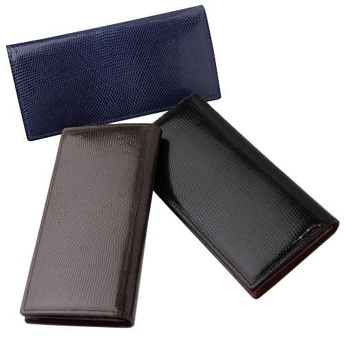 CYPRIS(キプリス)長財布(小銭入れ付き通しマチ束入)リザード