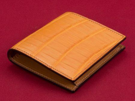 万双(マンソウ)クロコダイルミニ財布