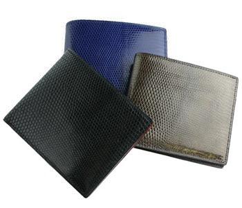 CYPRIS(キプリス) 二つ折り財布(カード札入) リザード