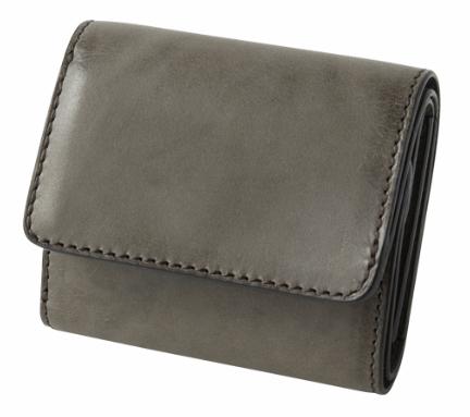 スクエア 三つ折り財布
