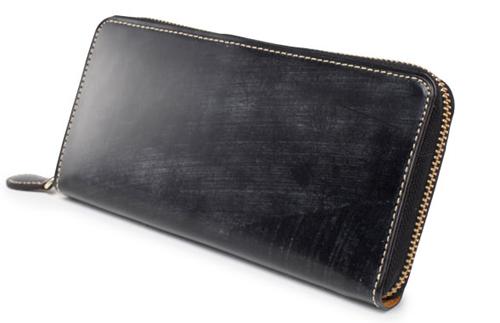 GANZO(ガンゾ)BRIDLE CASUAL (ブライドルカジュアル)ラウンドファスナー長財布