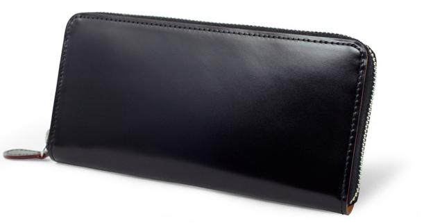 CORDOVAN (コードバン) ラウンドファスナー長財布