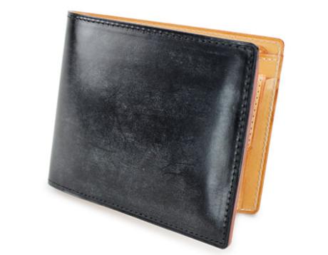 GANZO(ガンゾ)THIN BRIDLE (シンブライドル) 二つ折り財布