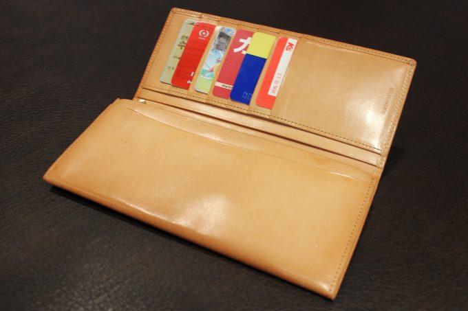 パティーナ長財布を実際に使用してみた感想