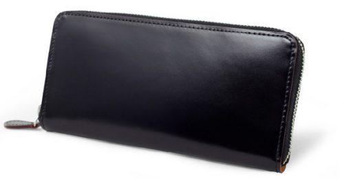GANZO(ガンゾ)CORDOVAN (コードバン) ラウンドファスナー長財布