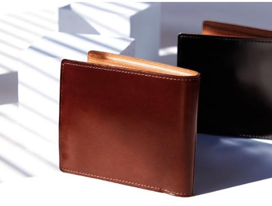 土屋鞄製造所 コードバン二折財布
