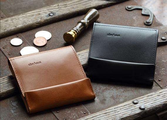薄い財布 abrAsus ブッテーロ レザー エディション