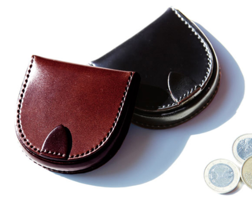 土屋鞄製造所 コードバン馬蹄型小銭入れ
