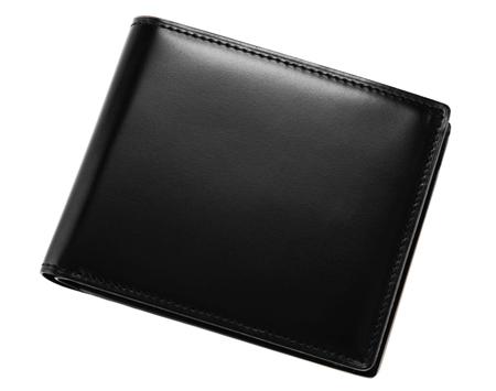 二つ折り財布(小銭入れ付き札入)■オイルシェルコードバン&リンピッドカーフ