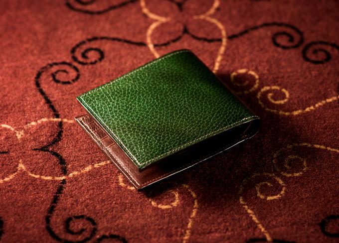 ロッソピエトラ 二つ折り財布