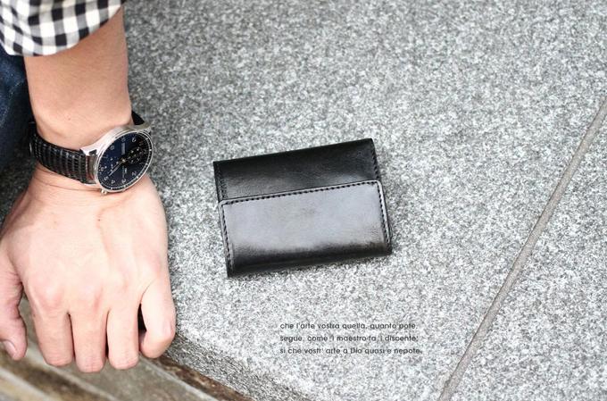VEOL(ヴェオル)イタリア本革 極小財布 ミニ財布