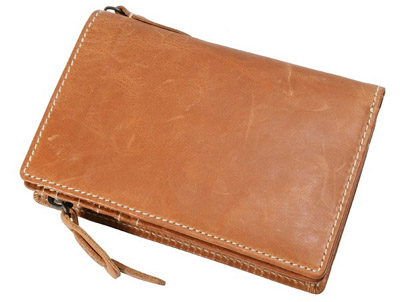 curious 縦型 二つ折 財布 8LO-9933