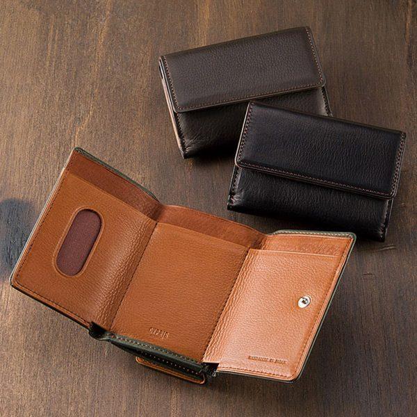三つ折り財布■シルキーキップ