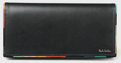 アーティストストライプポップ 長財布