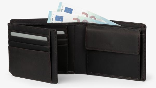 Oxford SLG 112, dark brown, wallet