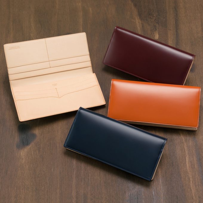 長財布(ササマチ束入)■新コードバン&ベジタブルタンニン
