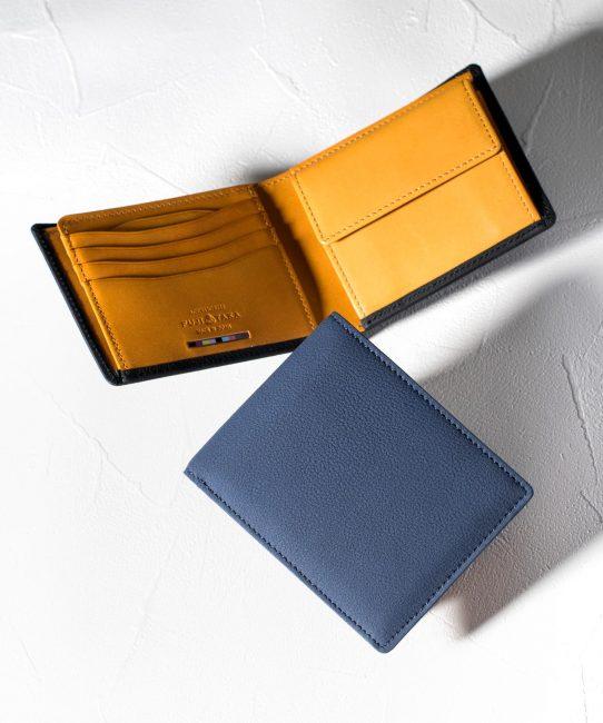 二つ折り財布 カード段11 バブル財布 No.639605