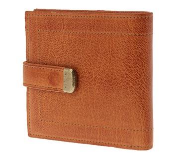 ゴートヌメ 二つ折り財布