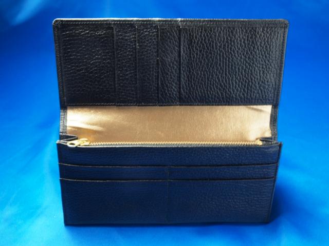 開運クロの長財布