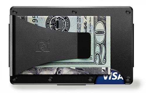 the RIDGE(ザ リッジ)スマートフォンよりも薄い財布 マネークリップ アルミニウム