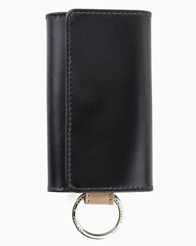 S9692 KEY CASE WITH RING / VINTAGE BRIDLE