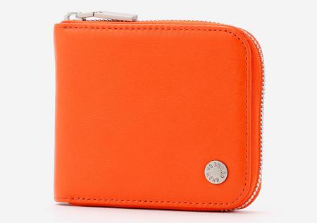 【モノコムサ】ラウンドファスナー2つ折り財布
