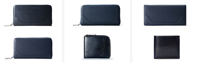 ペッレモルビダの財布