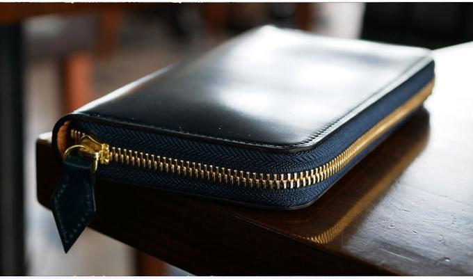 シェルコードバンラウンド財布