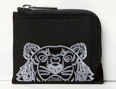 Zipped Tiger purse