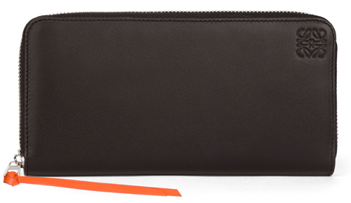 Rainbow Zip Around Wallet Multicolor/Black