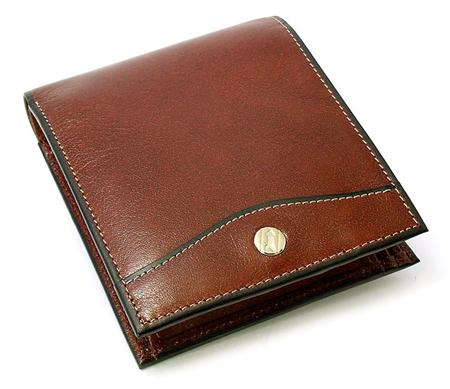 オックスフォード 二つ折り財布(小銭入れあり)