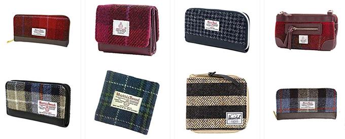 ハリスツイードの財布