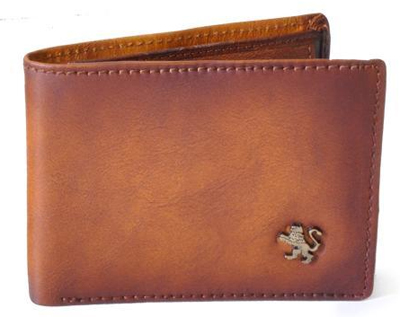 Cappella Brancacci: Bruce Range Collection – Italian Calf Leather Flap Over Men's Wallet
