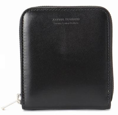 ZIP AROUND BI-FOLD WALLET / ジップ付き二つ折り財布