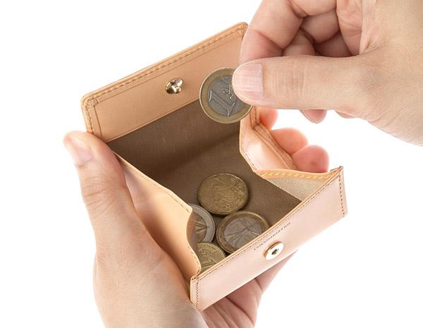 てボックスタイプの小銭入れ