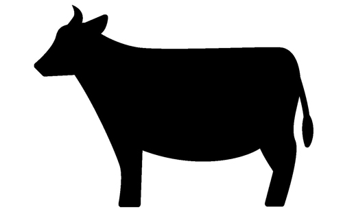 主に牛が中心
