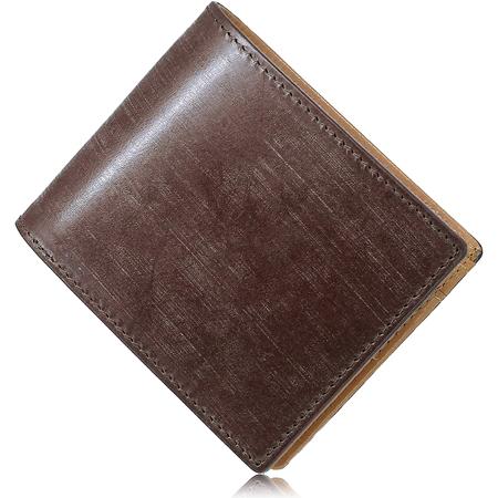 二つ折り財布 英国トーマス社ブライドルレザー