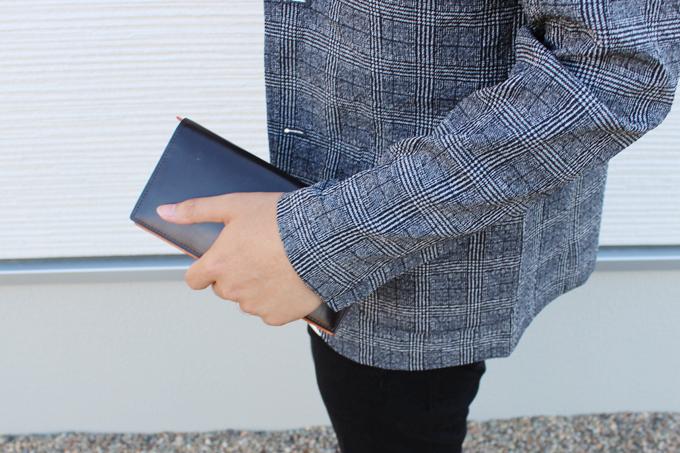 シンブライドル長財布の使用感