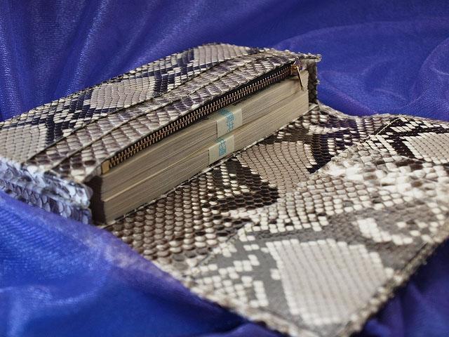 蛇革財布の種類