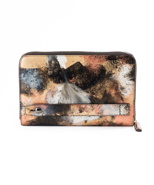 【KYOTO Leather】HAKE レザークラッチバッグ No.642212