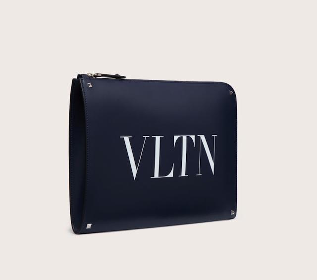 VLTN レザー ドキュメントホルダー