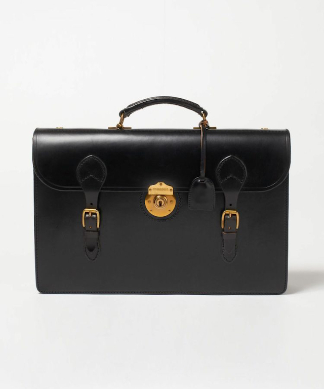 2 COMPARTMENTS FLAPOVER CASE/フラップ付きブリーフケース